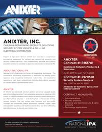 Anixter - National IPA Flyer new