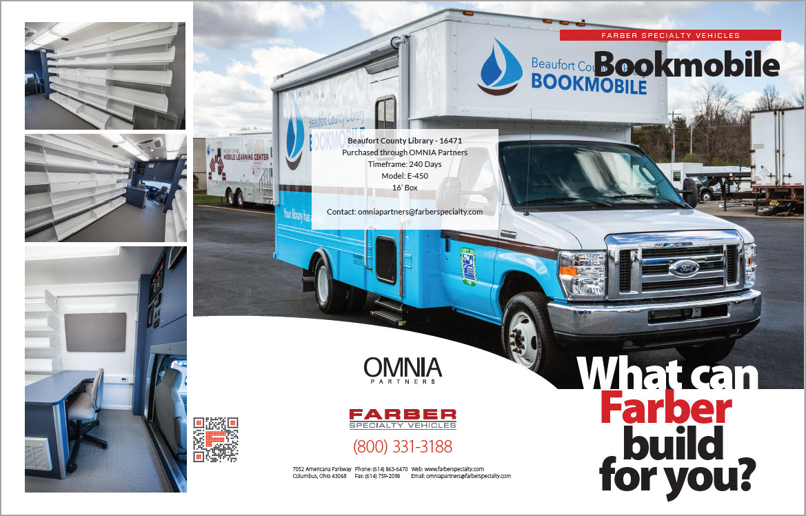 Bookmobile Beaufort County Library