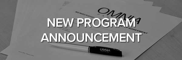 OMNIA Partners New Program Announcement