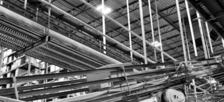 inside a manufacturing plant