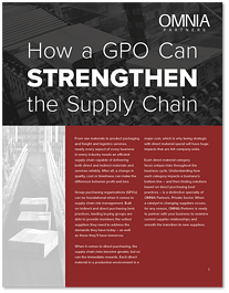 How a GPO Can Strengthen the Supply Chain
