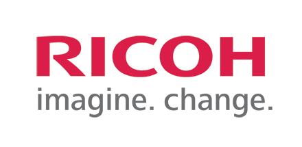 Ricoh Logo white background