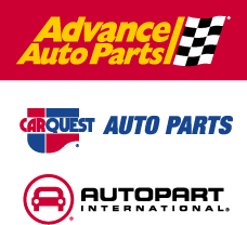 Advance Auto Parts Car Quest and Autopart International Logos