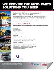 Auto Parts Solutions Flyer