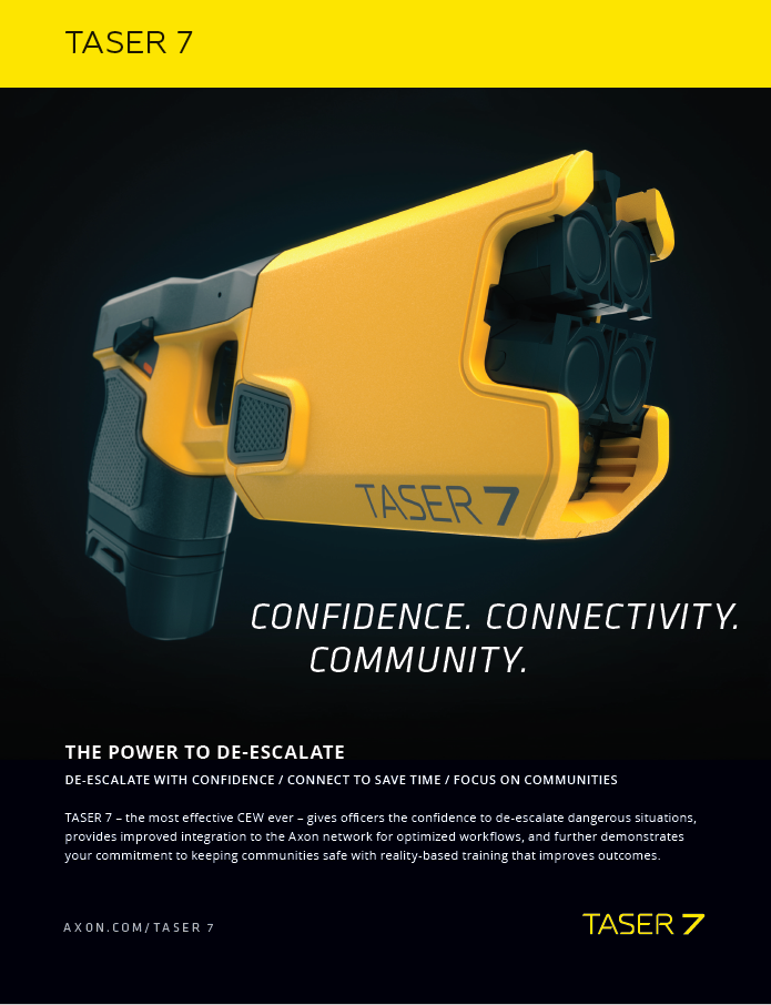 PUBLIC | Axon | Taser 7 Flyer Screenshot
