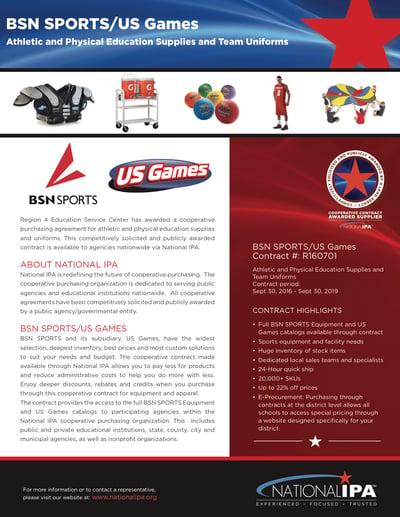 National IPA Flyer1 - BSN SPORTS