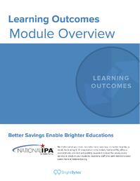 National IPA Learning Outcomes Module Overview
