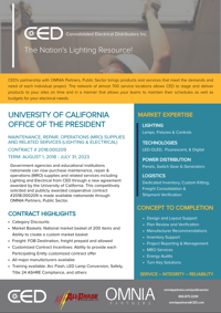 CED UC Contract Flyer