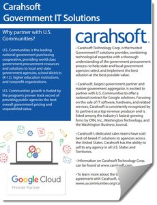 Carahsoft Technology Corp  | OMNIA Partners