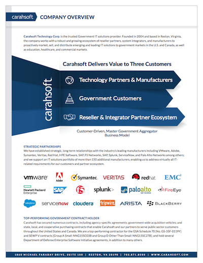 Carahsoft Company Overview