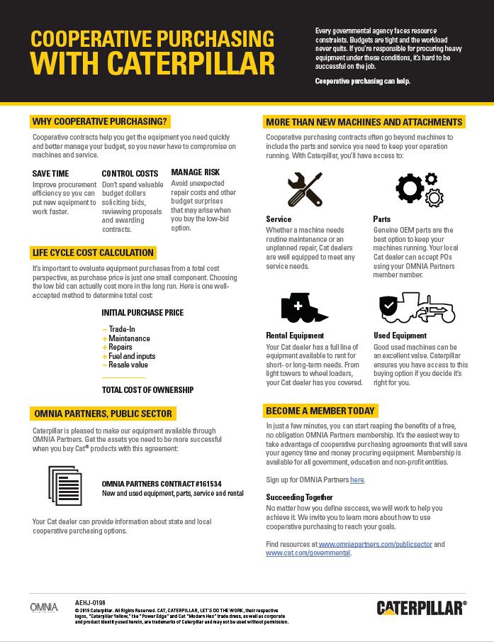 PUBLIC | caterpillar | New flyer screenshot