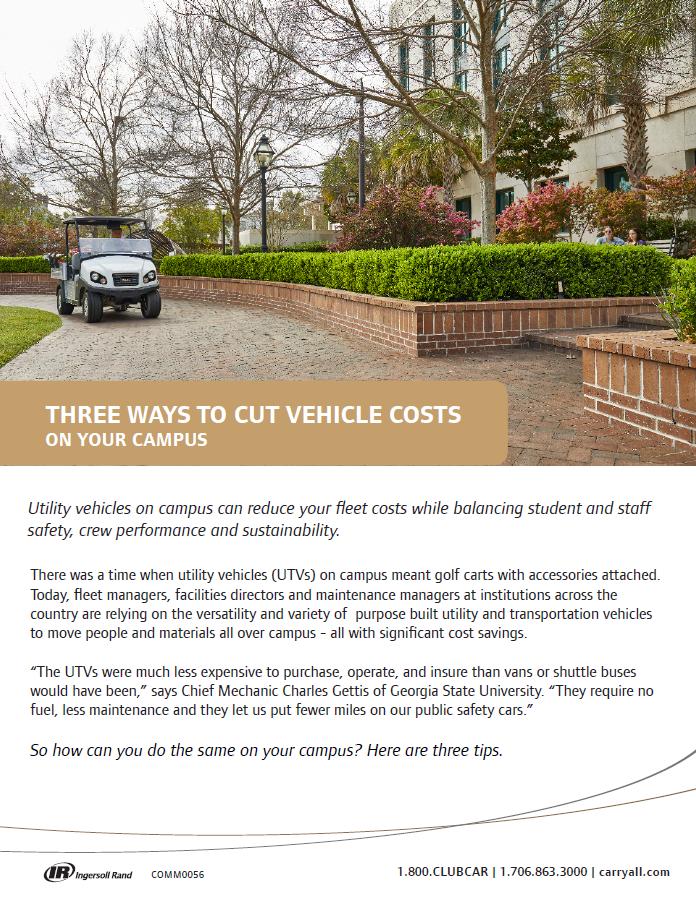 PUBLIC | Club Car | Brochure Screenshot