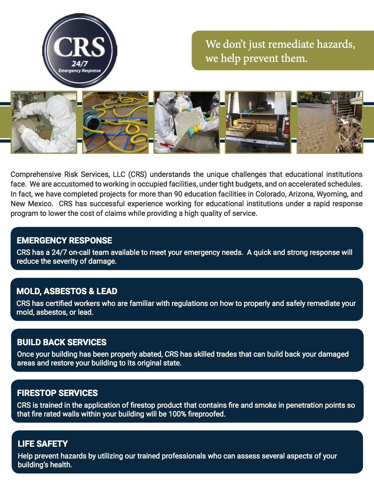 TCPN CRS Landing Page - Overview 9-17-15
