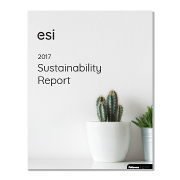 2017 Sustainability report