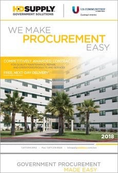 We Make Procurement Easy HD Supply Brochure