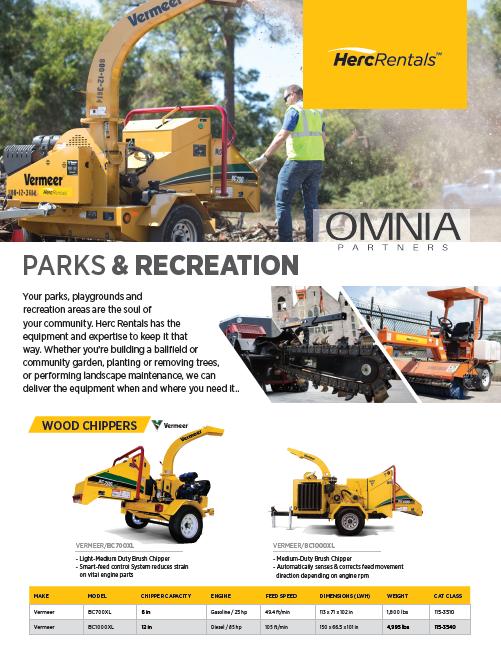 screenshot Parks & Rec flyer