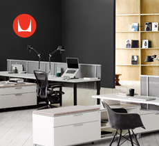 Herman Miller Office Set Up