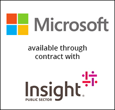 Microsoft with Insight logo
