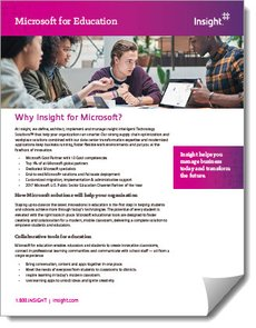Why Insight for Microsoft