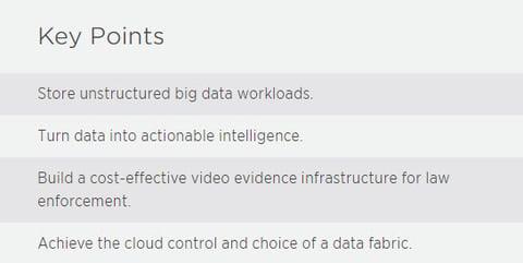 NetApp Key Points Big Data