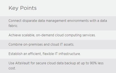NetApp Key Points Hybrid Cloud