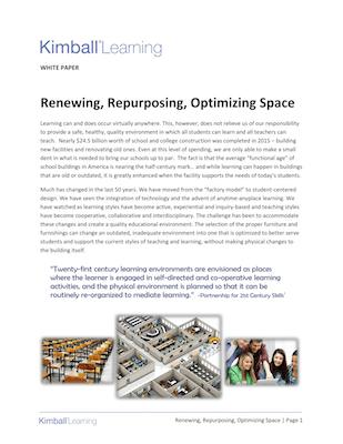 Renew Repurpose Optimize White Paper