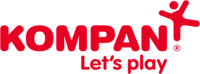 Red KOMPAN Logo