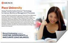Kronos Customer Stories Pace University