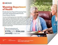 Customer Stories Wyoming Department of Health Kronos Case Study