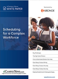 Scheduling for a complex workforce