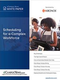 Scheduling for a complex workforce