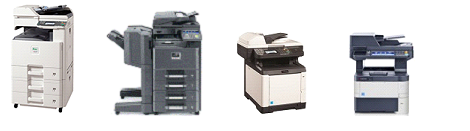 Kyocera copiers and printers