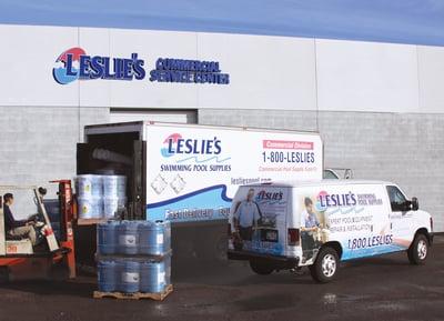 Leslies CSC Forklift Loading Truck & Van