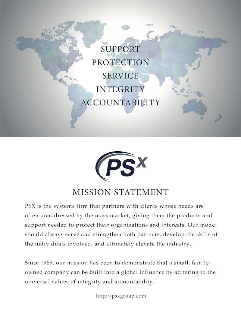 PSX MISSION