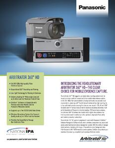 Arbitrator 360 Co-branded Flyer