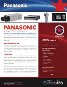 Panasonic Video Surveillance Flyer