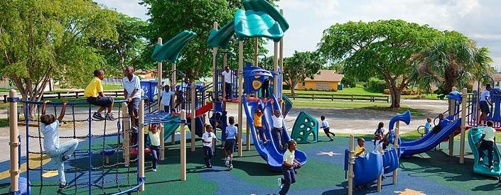 Play and Park playground