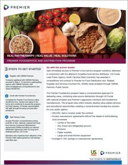 Premier-US Foods Food Program