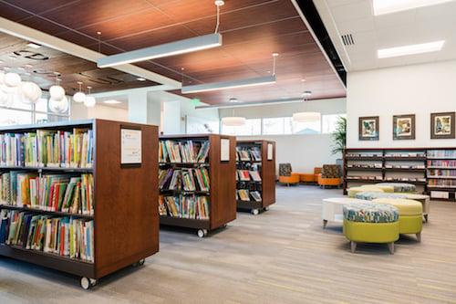 Marmalade Library Bookshelves