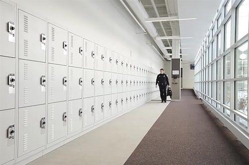 Tactical Gear Storage Lockers Skokie Police Department