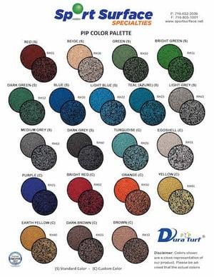 PIP Color Palette