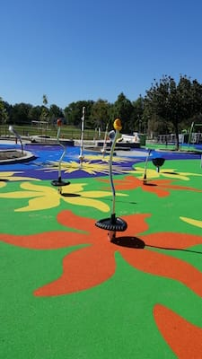 floral-patterned-rubber-playground