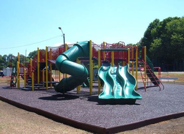 Green Slides Playground