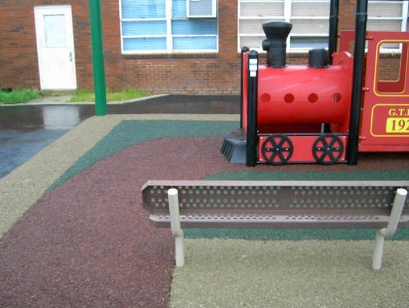 Plastic Playground Train