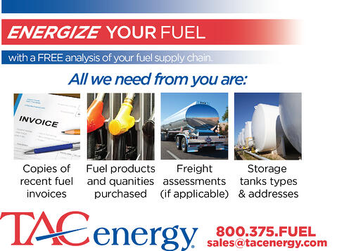 TAC Energy fuel analysis graphic