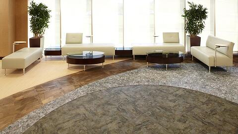 LVT style flooring