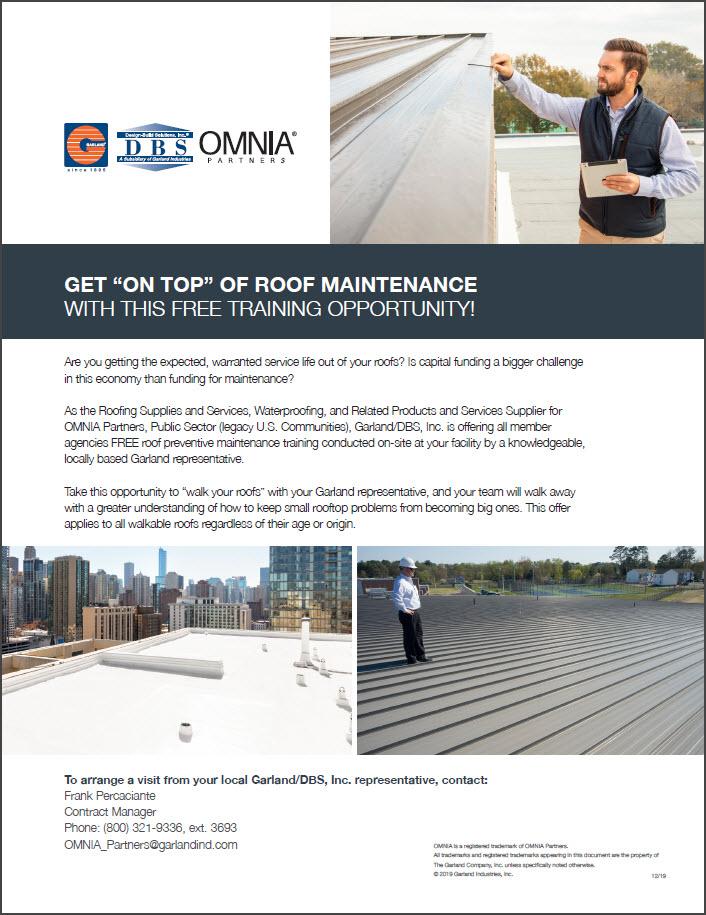 Garland Roof Maintenance