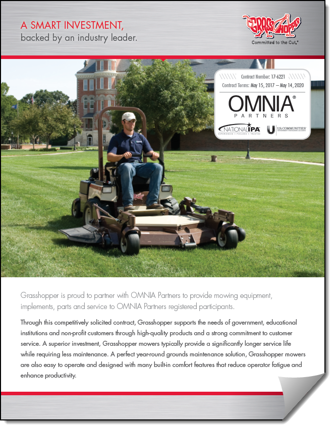 Grasshopper Mowers Overview Flyer