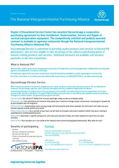 National IPA Cutsheet thumbnail