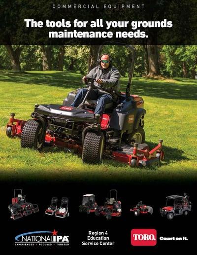 thumbnail for Toro commercial flyer for commercial equipment